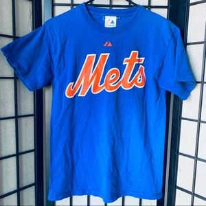 New York Mets Dykstra #4 MLB baseball t-shirt S